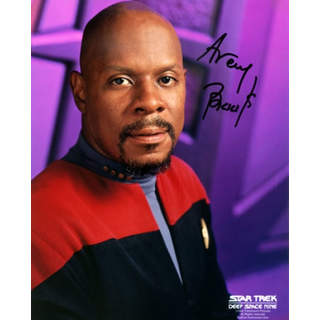 Avery Brooks - Star Trek Deep Space Nine Captain Benjamin Sisko - Originalautogramm mit Echtheitszertifikat