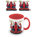 Deadpool Coloured Inner Tasse 2 Thumbs