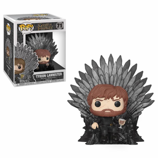 Funko Pop Game of Thrones Deluxe Vinyl Figur Tyrion Sitting on Iron Throne 71