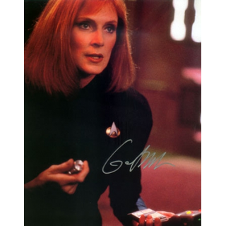 Gates McFadden 3 - Star Trek The Next Generation Doctor Beverly Crusher - Originalautogramm mit Echtheitszertifikat