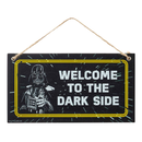 Star Wars Fathers Day Holzschild Welcome To The Dark Side