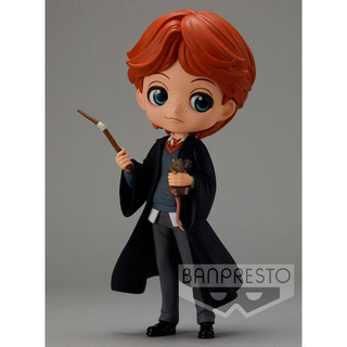 Harry Potter Q Posket Minifigur Ron Weasley with Scabbers 14 cm