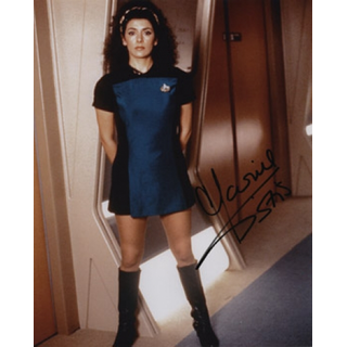 Marina Sirtis 1 - Star Trek The Next Generation - Originalautogramm mit Echtheitszertifikat