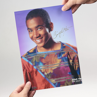 Cirroc Lofton 1 - Star Trek Deep Space Nine Jake Sisko - Originalautogramm mit Echtheitszertifikat