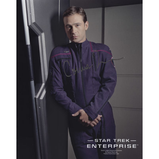 Connor Trineer 5 - Star Trek Enterprise - Originalautogramm mit Echtheitszertifikat