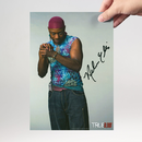 Nelsan Ellis 4 - True Blood - Originalautogramm mit...