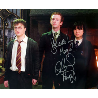 Autogramm Chris Rankin 1 Percy Weasley aus Harry Potter