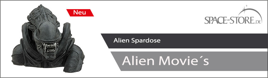 Alien Spardose